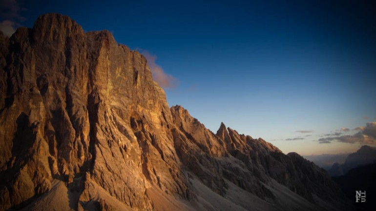The Dolomites, a two-day hike