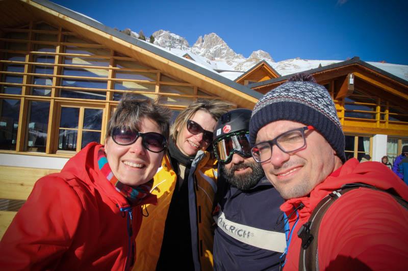 Passo San Pellegrino, the Dolomites, Italy.