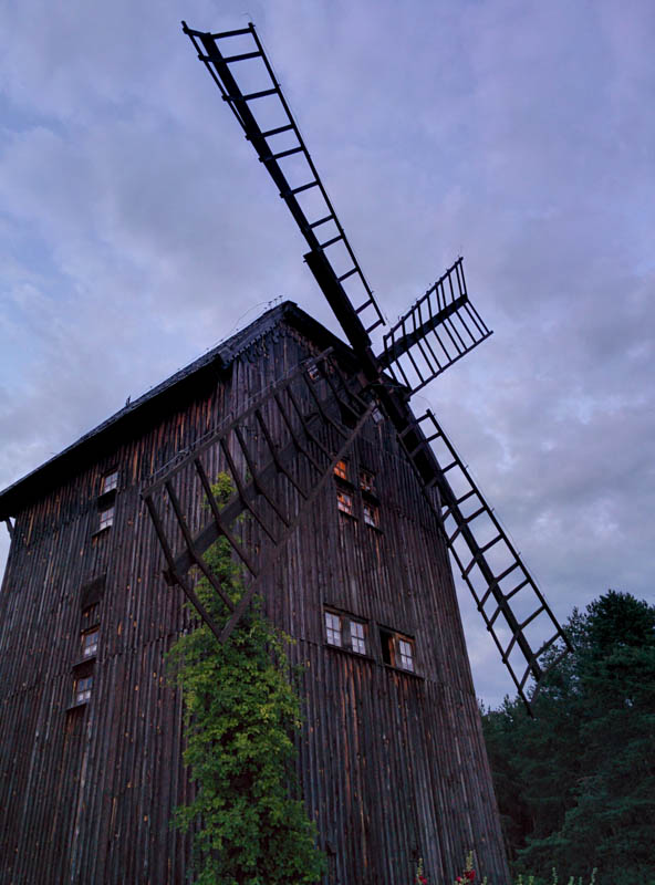 The windmill, Podlasie