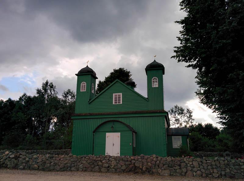 The wooden Mosque, Podlasie